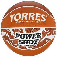 Мяч баскетбольный TORRES Power Shot, B32087, размер 7