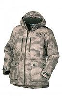 Куртка мужская демисезонная ОКРУГ Тувалык -15°C (ткань алова, кмф.коричневый), размер 58