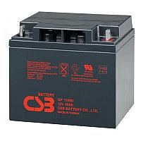 Аккумулятор WBR GP 12400, напряжение 12 В и ёмкость 40 Ач