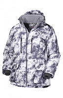 Куртка мужская зимняя ОКРУГ Охотник -20°C (ткань алова, кмф.белый), размер 54