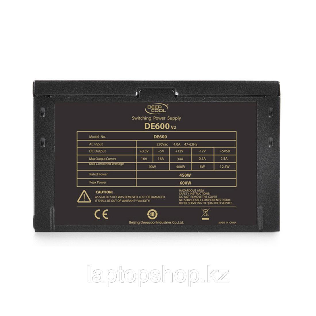 Блок питания Deepcool DE600 DP-DE600US-PH, 600W