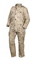 Костюм летний ОКРУГ Тактический (ткань рип-стоп, кмф.бежевый), размер 52