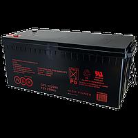 Аккумулятор WBR GPL 122000, напряжение 12 В и ёмкость 200 Ач