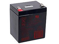 Аккумулятор WBR HR 1221W F2, напряжение 12 В и ёмкость 5 Ач