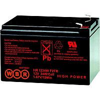 Аккумулятор WBR HR 1234W f2, напряжение 12 В и ёмкость 9 Ач