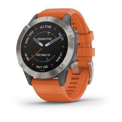Часы Garmin Fenix 6 Sapphire Titan
