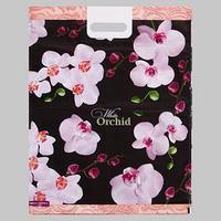 Пакет 'Орхидея new', полиэтиленовый с вырубной ручкой, 41х51 см, 80 мкм (комплект из 25 шт.)