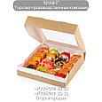 (ECO Tabox PRO 1555) Коробка с окном 200*200*55 DoEco (25/125), фото 2