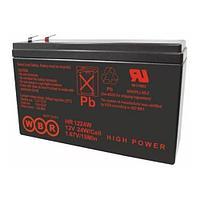 Аккумулятор WBR HR 12420W, напряжение 12 В и ёмкость Ач