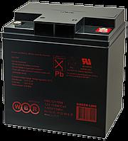 Аккумулятор WBR HR 12170W, напряжение 12 В и ёмкость Ач