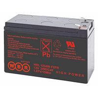 Аккумулятор WBR HR 1280W, напряжение 12 В и ёмкость Ач