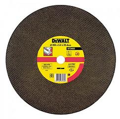Круг отрезной DEWALT DT3450, по металлу, 355 x 25.4 x 3 мм