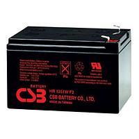 Аккумулятор WBR HR 1251W, напряжение 12 В и ёмкость Ач