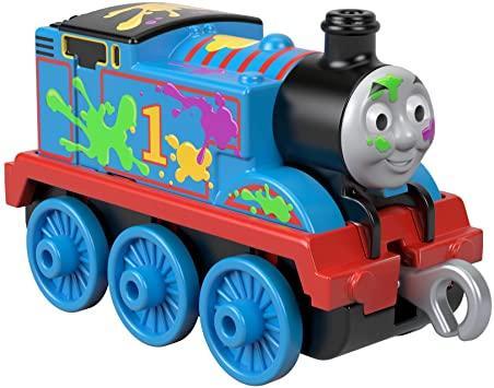Томас и друзья. Паровозик Томас, раскрашенный