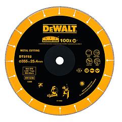 Алмазный круг по металлу DEWALT DT3752, 355 x 25.4 x 1.6, h=3