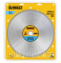Пильный диск DEWALT EXTREME DT1917, по алюминию 355/25.4, 100 TCG-5°