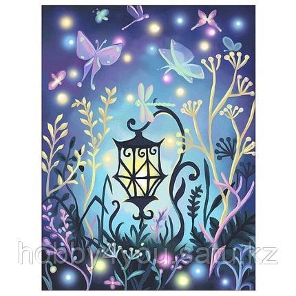 Картина стразами на холсте «Волшебный фонарь», 30*40см, фото 2