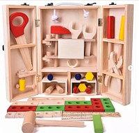 Игрушка Деревянный набор инструментов