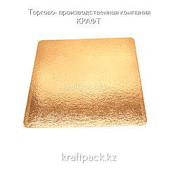 Pasticciere. Подложка золото 250*250 мм (Толщина 0,8мм)*100шт/упак