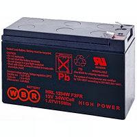 Аккумулятор WBR HRL 12890W, напряжение 12 В и ёмкость Ач
