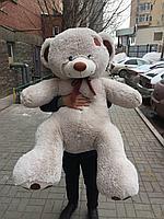 """Медвежонок """"TONY (Тони)"""" 140 см Светло-серый"""