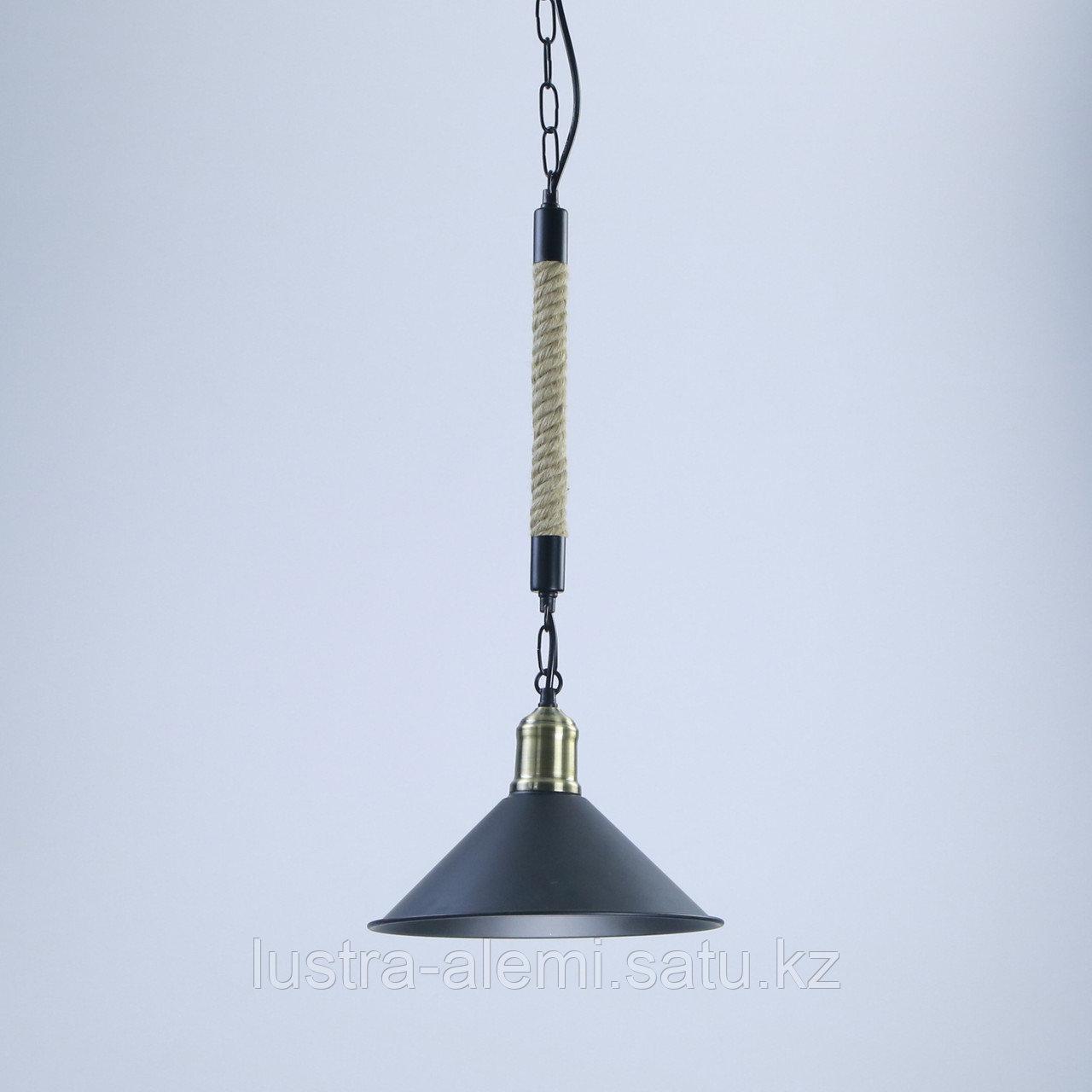 Люстра Подвесная TG 0081/1 BK Rope