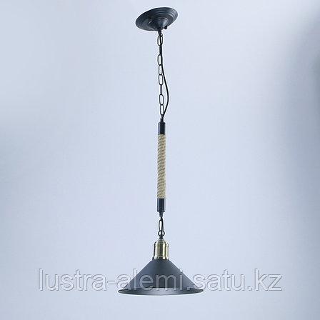 Люстра Подвесная TG 0081/1 BK Rope, фото 2