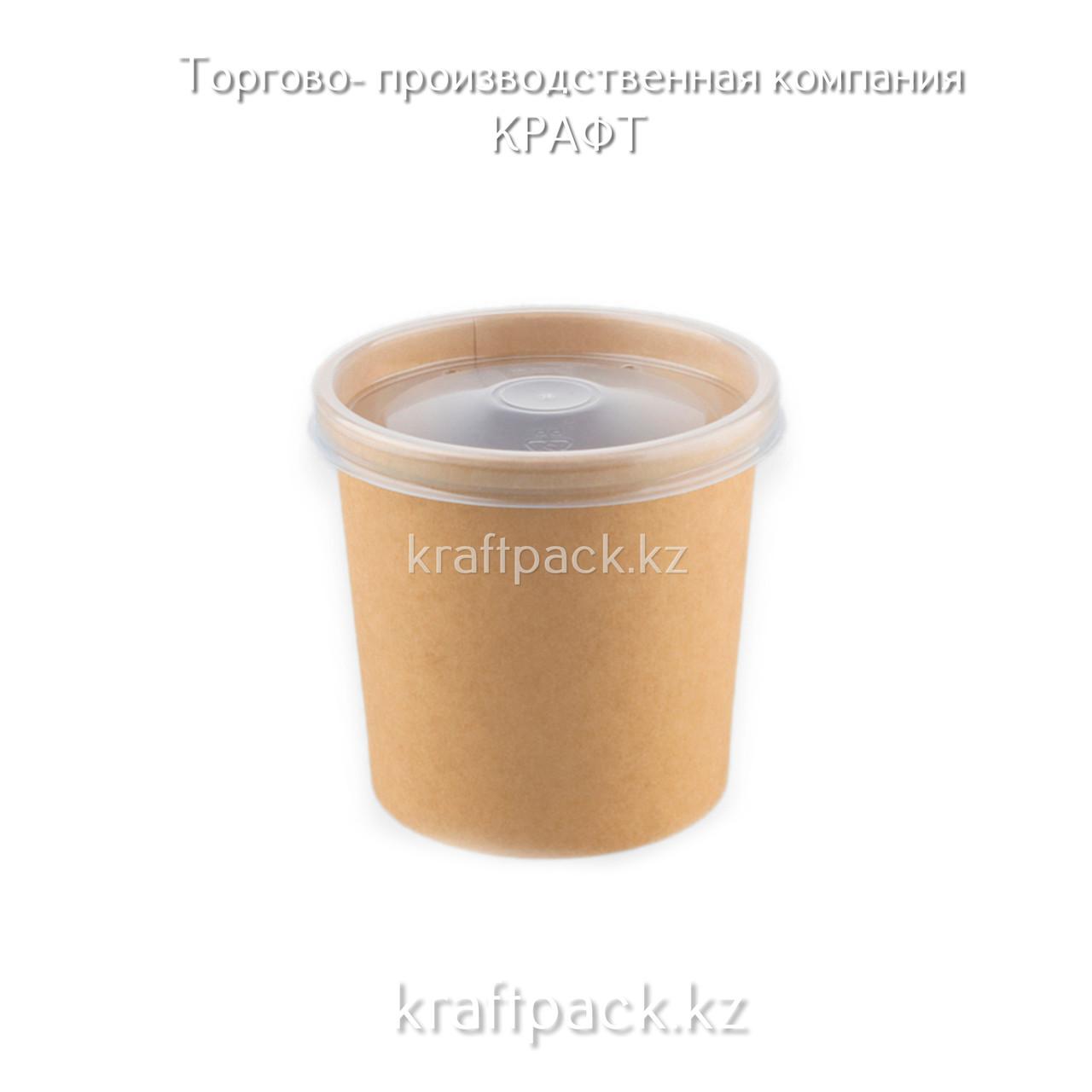Контейнер Eco Soup 300-350мл Крафт (50/500) (2014)