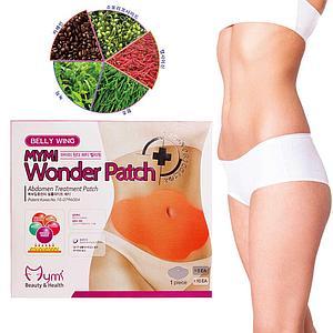 Пластырь для похудения живота Belly Wing MYMI Wonder Patch 5 шт