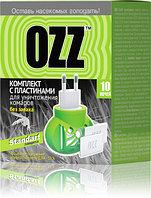 """Комплект с пластинами """"OZZ STANDART"""" для уничтожения комаров 10 НОЧЕЙ."""