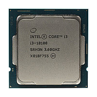 Процессор Intel Core i3-10100, Comet Lake, LGA 1200, оем