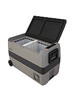 Автохолодильник Kyoda T50WH, двухкамерный, объем 50 л, вес 15,5 кг.