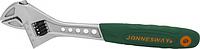 Ключ разводной JONNESWAY W27AT12 эргономичный с пластиковой ручкой, 0-34 мм, L-300 [048048]