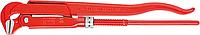 Ключ трубный рычажный KNIPEX 8310020 губки под углом 90° [KN-8310020]