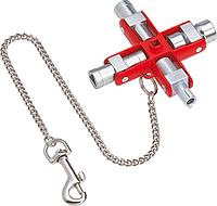 Ключ для электрошкафов KNIPEX 001106 [KN-001106]