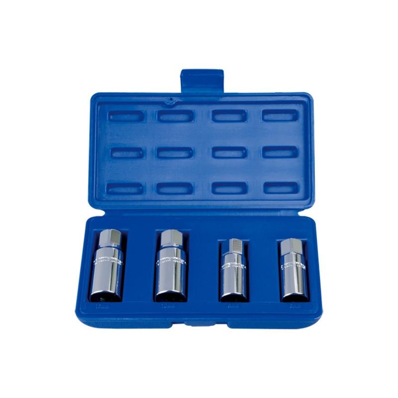 Набор шпильковертов роликовых, 6, 8, 10, 12 мм, 4 предмета KING TONY 9TD014MR