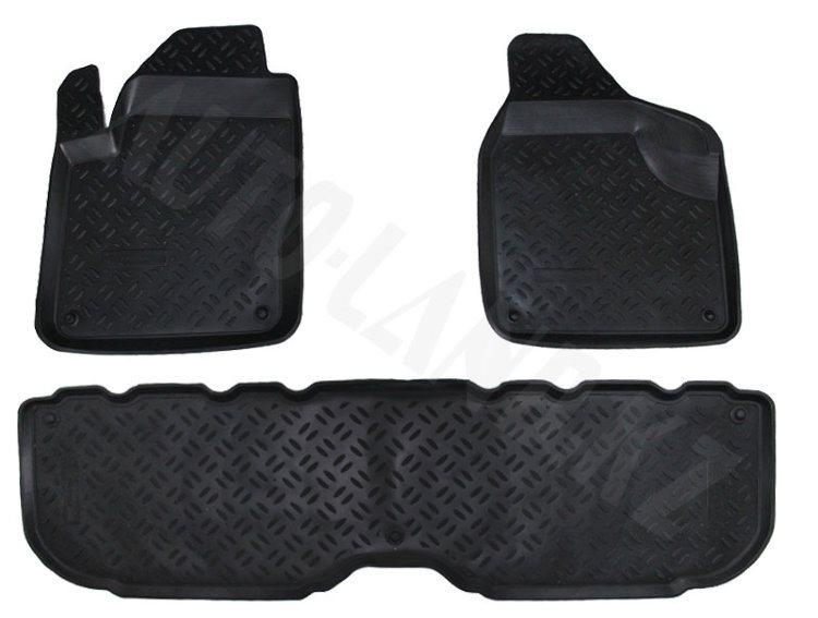 Коврики в салон Volkswagen Sharan (2000-2003)/Ford Galaxy (2000-2005)/Seat Alhambra (2000-2005)