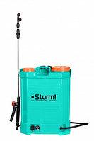 Опрыскиватель аккумуляторный STURM GS8216B садовый ранцевый 16л [GS8216B]