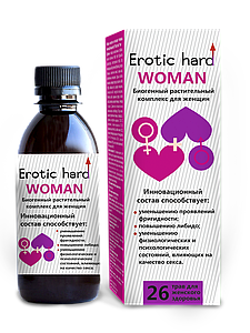 """Биогенный женский  растительный концентрат жидкий """"Erotic hard"""""""