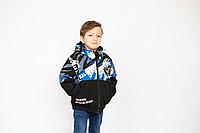 Куртка детская с косыми карманами для мальчика