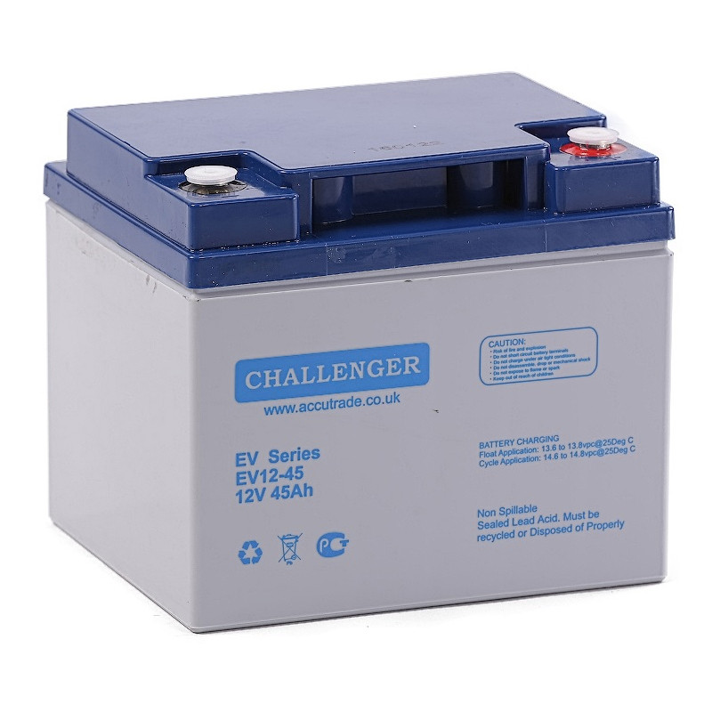 Аккумулятор Challenger EV12-45 (12В, 45Ач)