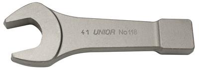 Ключ рожковый ударный, для особо тяжёлых работ - 118/7 UNIOR