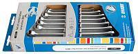 Набор ключей комбинированных IBEX в картонной упаковке - 129/1CS UNIOR