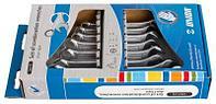 Набор ключей комбинированных в картонной упаковке - 125/1CS UNIOR