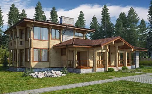 Проект дома №352