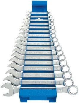 Набор ключей комбинированных в металлическом стенде - 125/1MS UNIOR