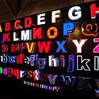Объемные световые буквы, фото 2