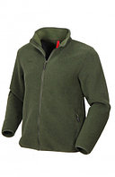 Куртка мужская демисезонная ОКРУГ (ткань флис, олива), размер 52-54