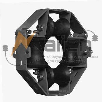 ВРУ 4-80КФ Ролик кабельный направляющий универсальный
