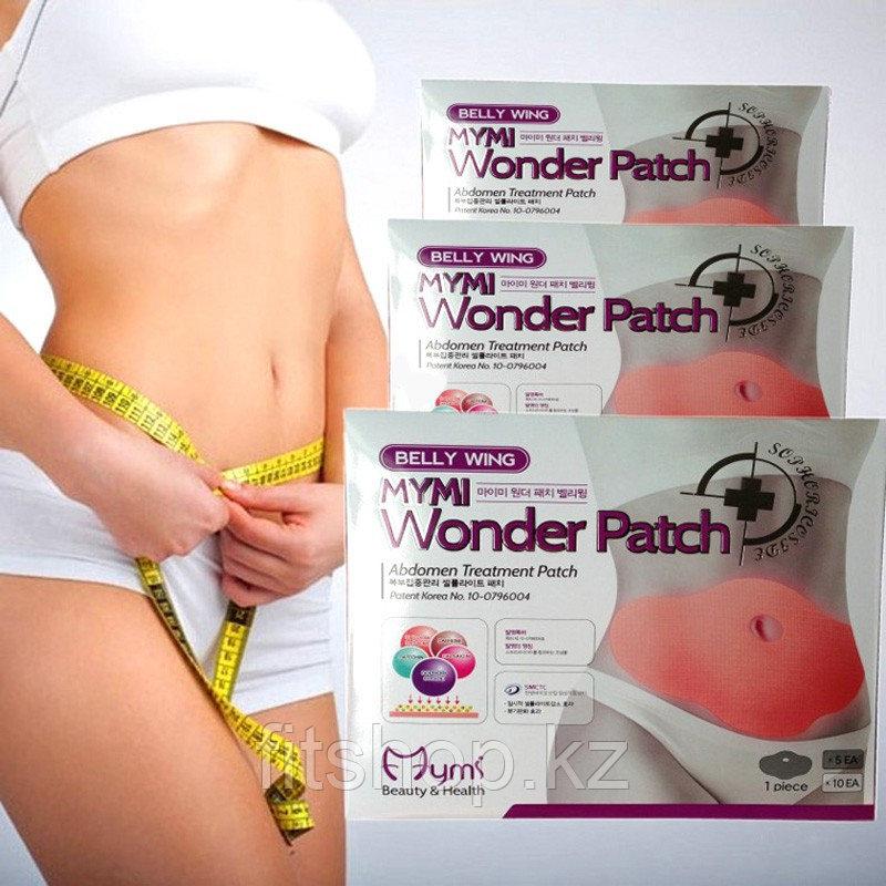 Пластырь для похудения  живота  MYMI Wonder Patch.